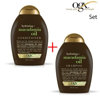 OGX Organix - SET Macadamia Oil 1 x SHAMPOO + 1 x CONDITIONER