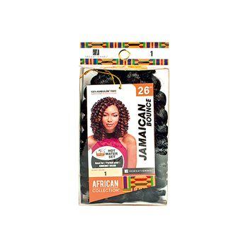 Sensationnel African Collection - Jamaican Bounce 26'' 65 cm bulk Braids