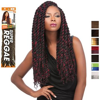 Sensationnel African Collection - Super Reggae 36'' 90 cm bulk Braids