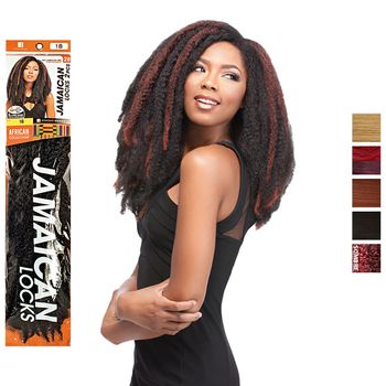 Sensationnel African Collection - Jamaican Locks 26'' 65 cm bulk Braids