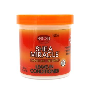 African Pride Shea Butter Miracle Moisture Intense Leave-In Conditioner 15oz 425g