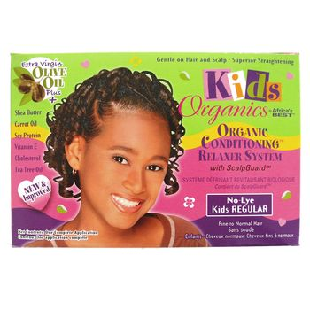Africa's Best Kids Organics Relaxer System No-Lye Kids REGULAR