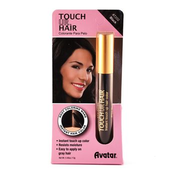 Avatar - Touch Ur Hair - Instant Touch Up Hair Color Haarfarbe Stick #202 Black / Schwarz