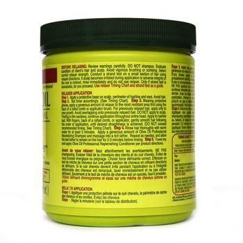 ORS Organic Root Stimulator Olive Oil Professional Creme Relaxer Jar NORMAL 18.7oz 531g