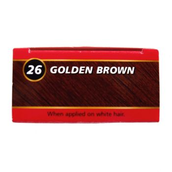 Bigen Dye Permanent Powder Hair Colour 26 Golden Brown Puder Haarfarbe Goldbraun