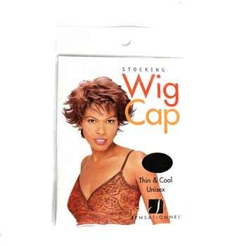 Sensationnel Stocking Wig Cap 2pcs black 2 Stück, schwarz