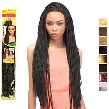 X-Pression BOX BRAID Small 24'' 60cm bulk Braids
