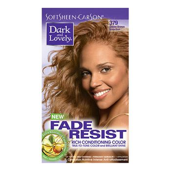 Dark & Lovely Farbe 379 Golden Bronze Fade-Resistant Rich Conditioning Color Dunkelblond