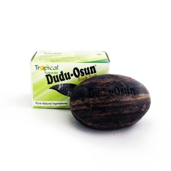 3er Pack Dudu Osun - Schwarze Seife aus Afrika Original Black Soap 3x150g [Tropical]