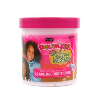 African Pride Dream Kids Olive Miracle Leave-In Conditioner 15oz 425g