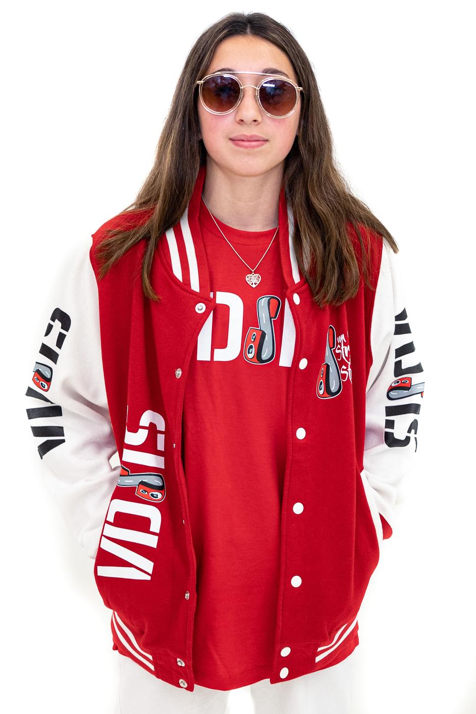 "VDSIS College Jacke ""RED"""