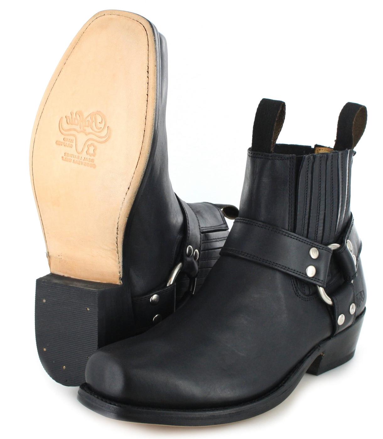 Buffalo Boots 6000 biker ankle boot black