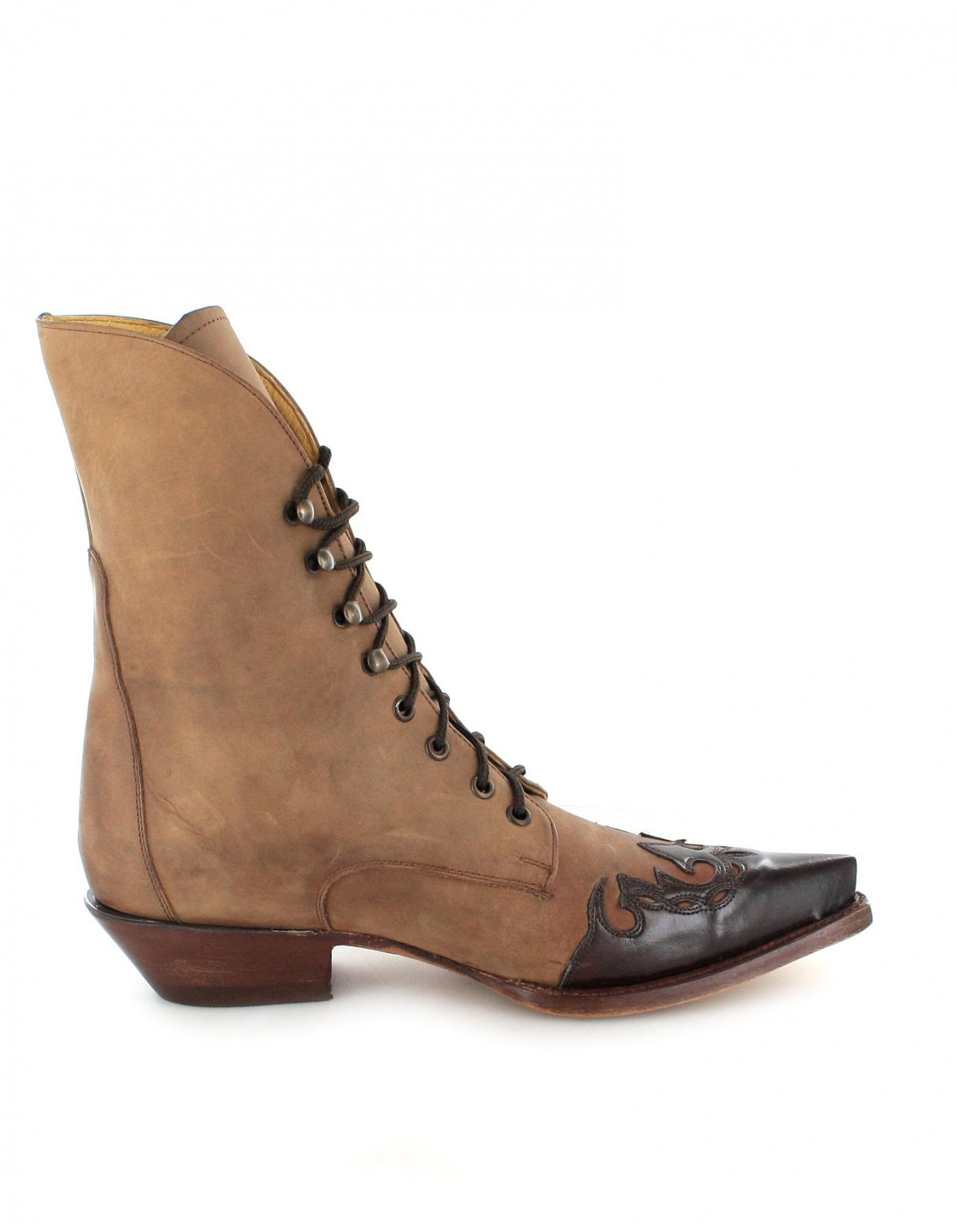mezcalero boots quincy 0756 western laced ankle boot