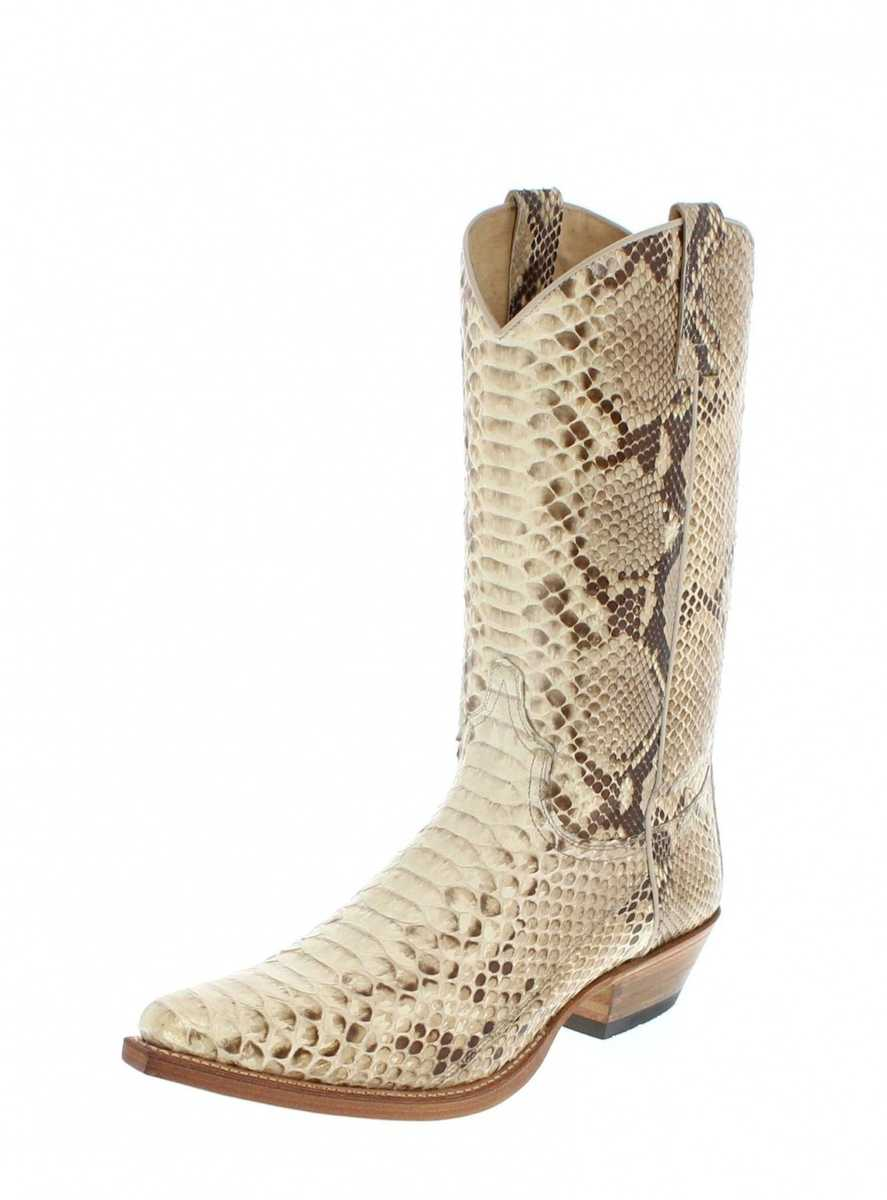 Of Full Sendra Boot Made Boots Exotic Skin 2966p Western Python AqR4j35L