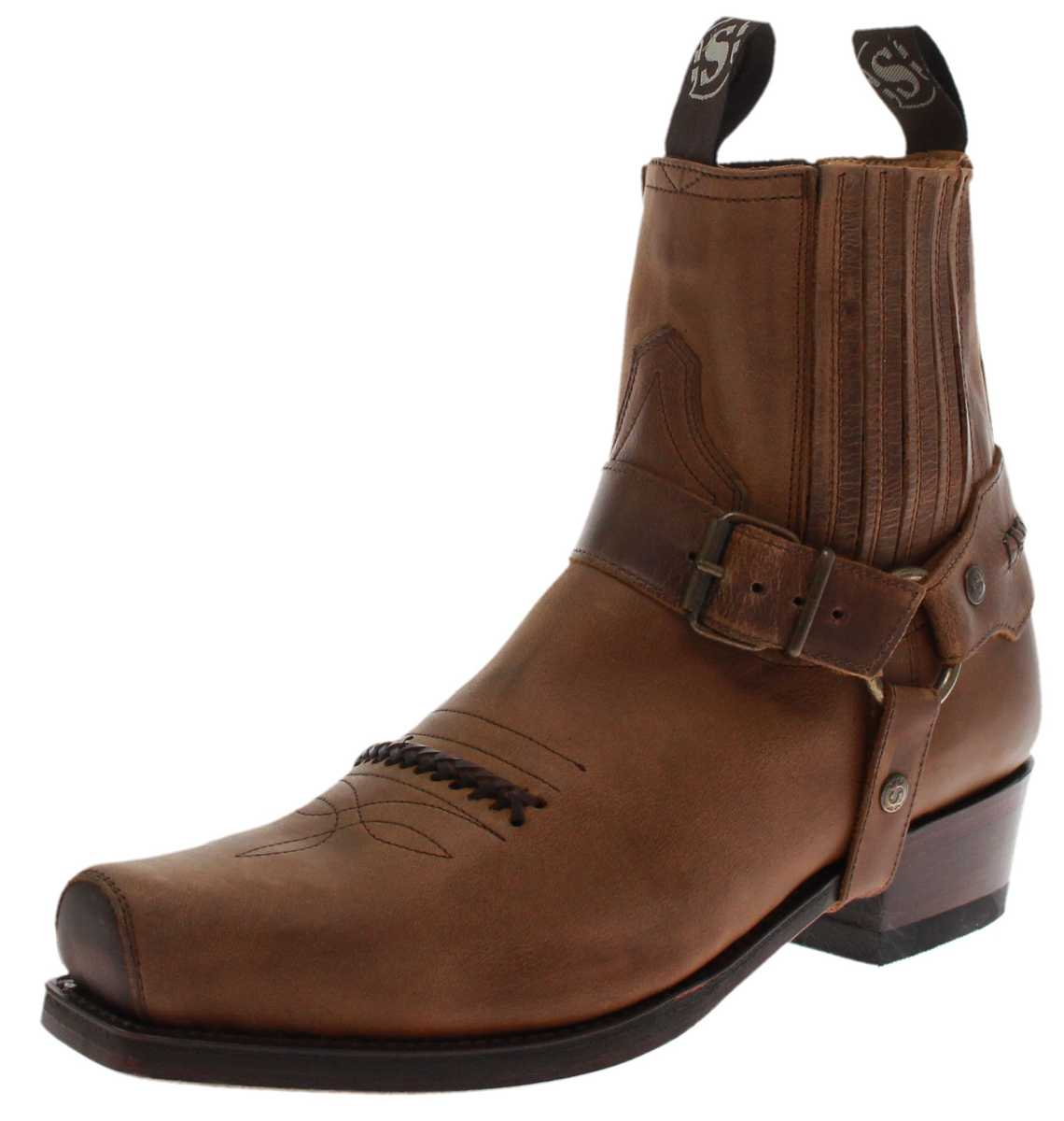 Sendra Boots 6445 Tang biker ankle boot - brown