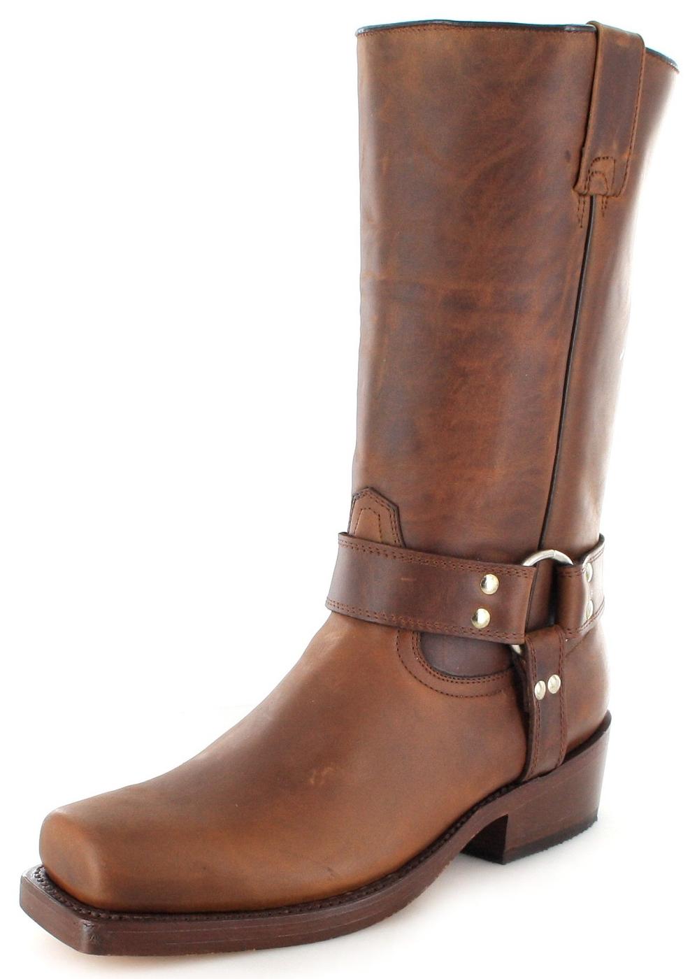 Buffalo Boots 1801 Bikerstiefel - braun