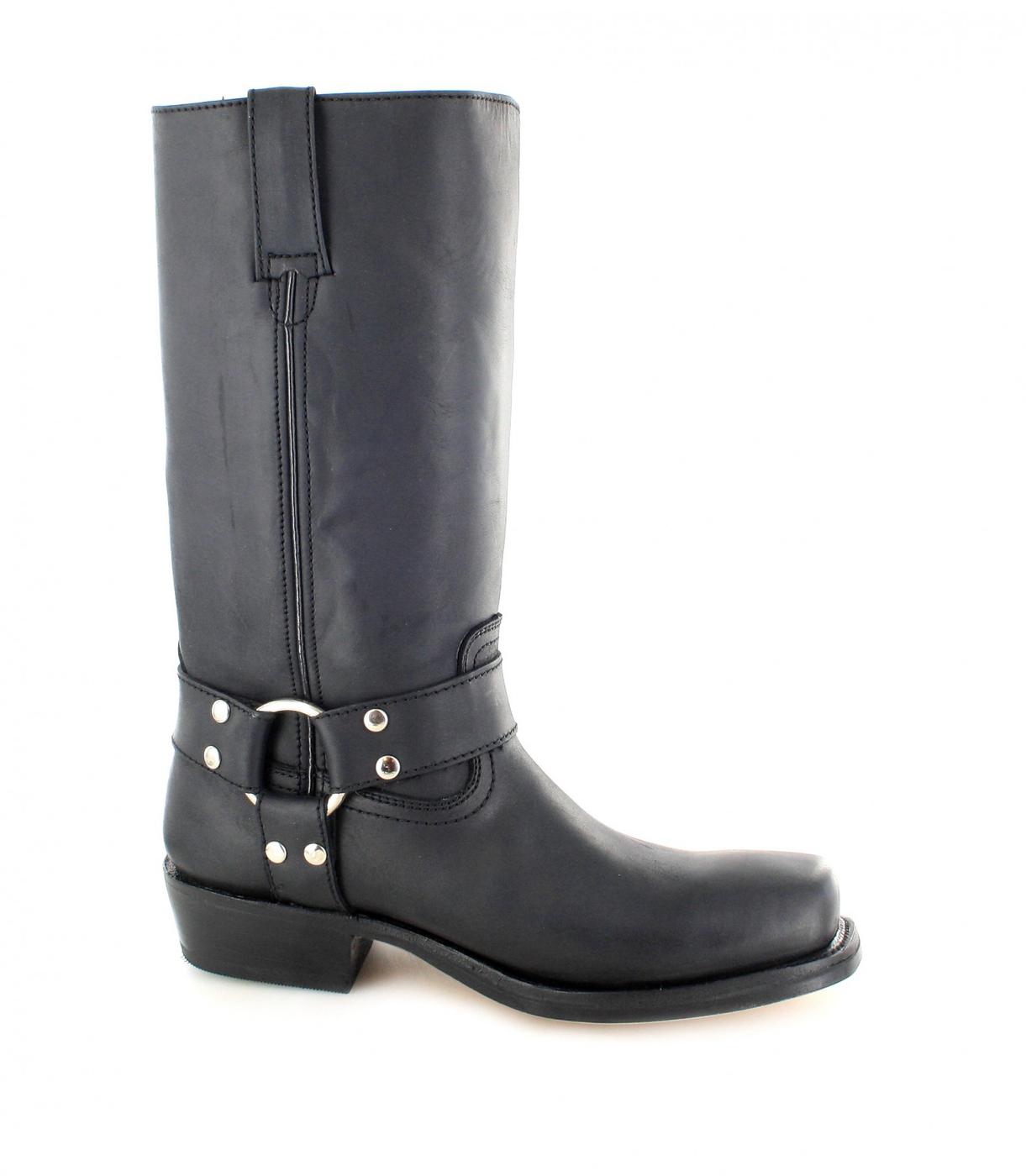 Buffalo Boots 1801 biker boot - black | Fashion Boots