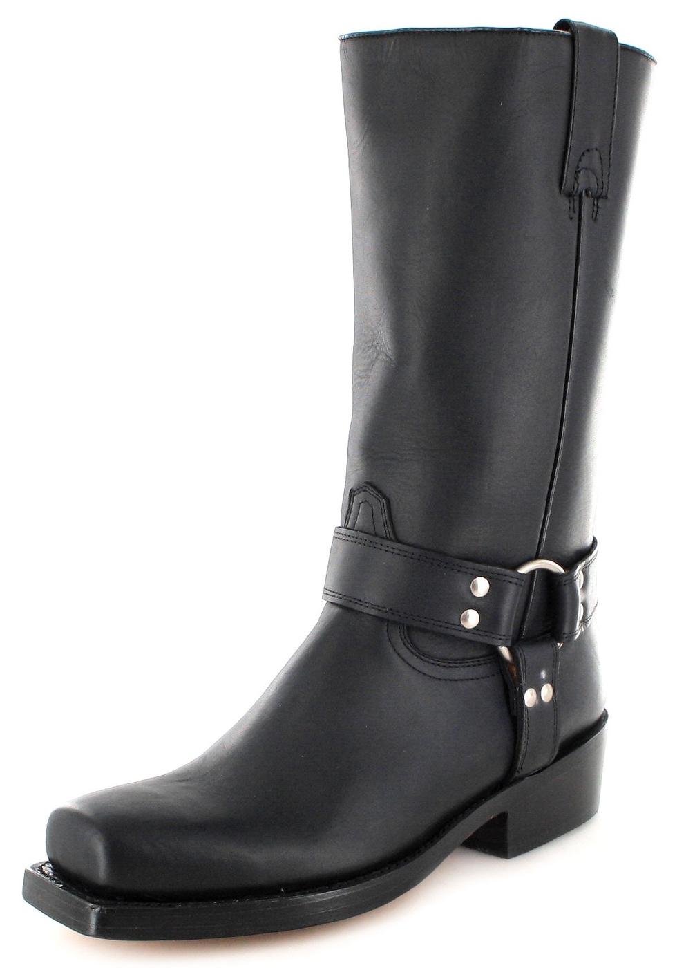 Buffalo Boots 1801 Bikerstiefel - schwarz
