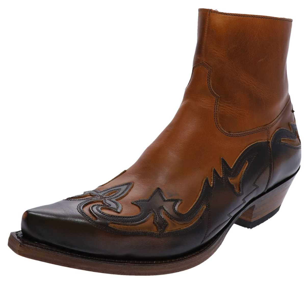 Sendra Boots 5790 Evolution Tang Western Ankle Boot - Brown