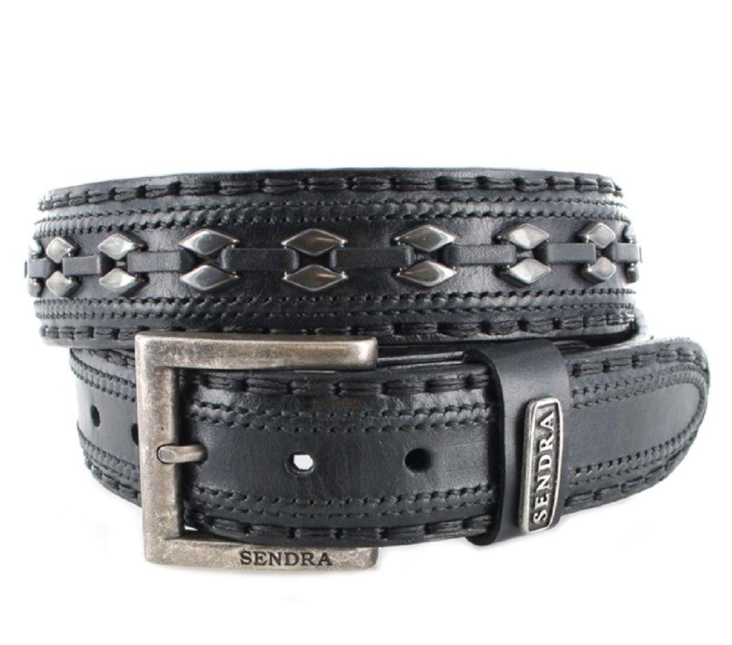 Sendra Boots 8340 Negro Ledergürtel - schwarz