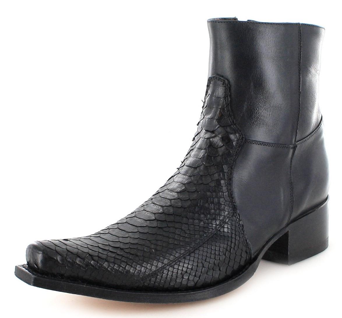 Sendra Boots 5701P Negro Fashion Exotic ankle boot - black
