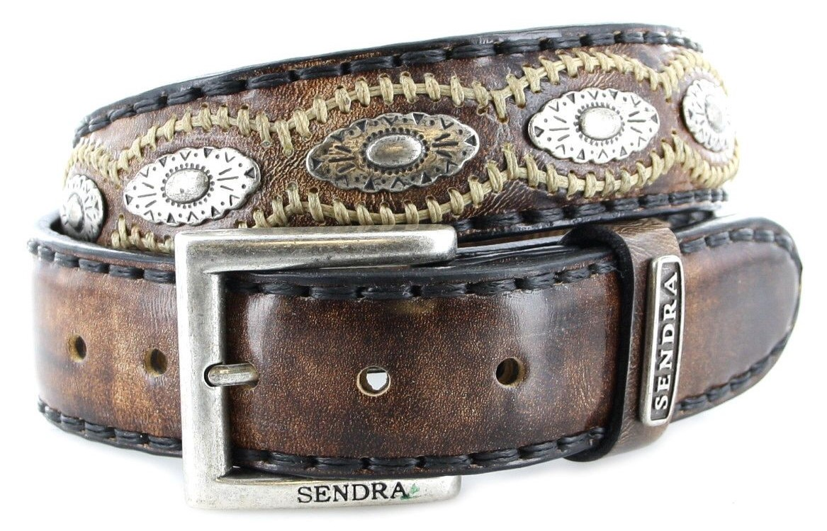 Sendra Boots 7606 Canela leather belt - brown