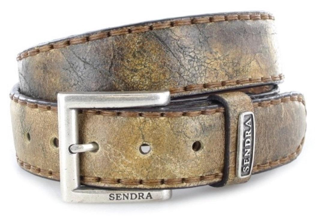Sendra Boots 8563 Camello Cepillado leather belt - brown