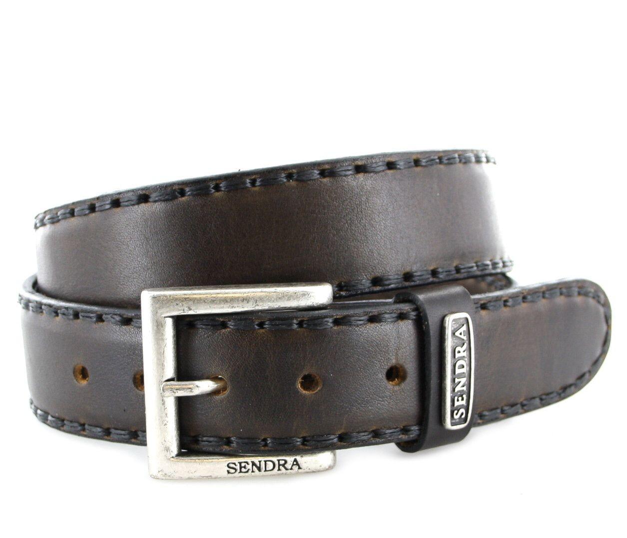 Sendra Boots 8563 Evolution Negro Ledergürtel - braun schwarz