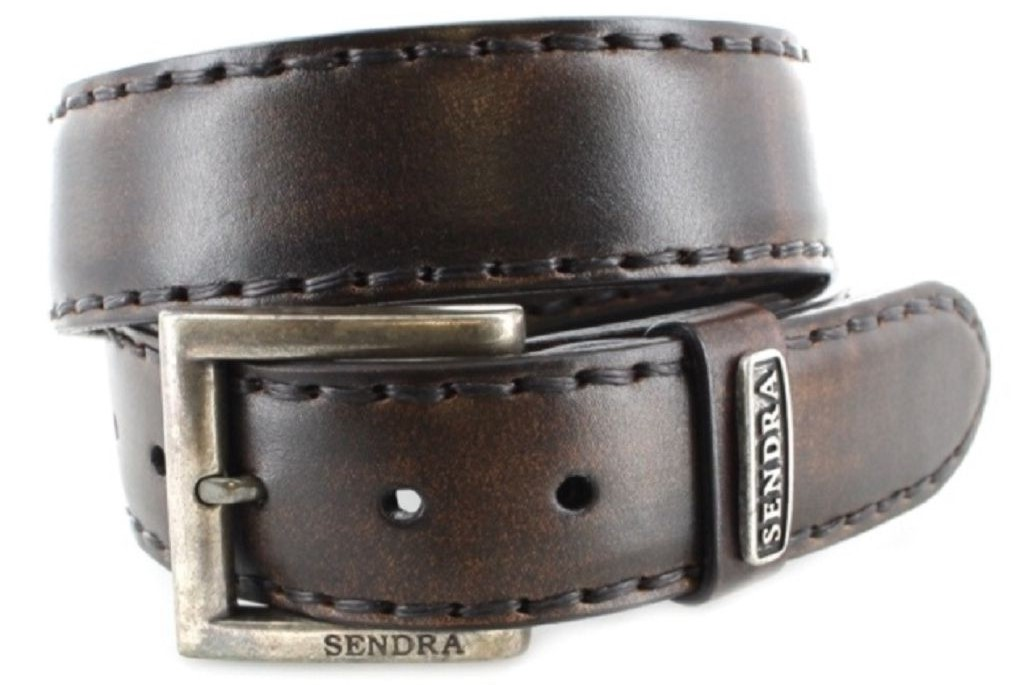 Sendra Boots 8563 Natur Antic Jacinto leather belt - brown