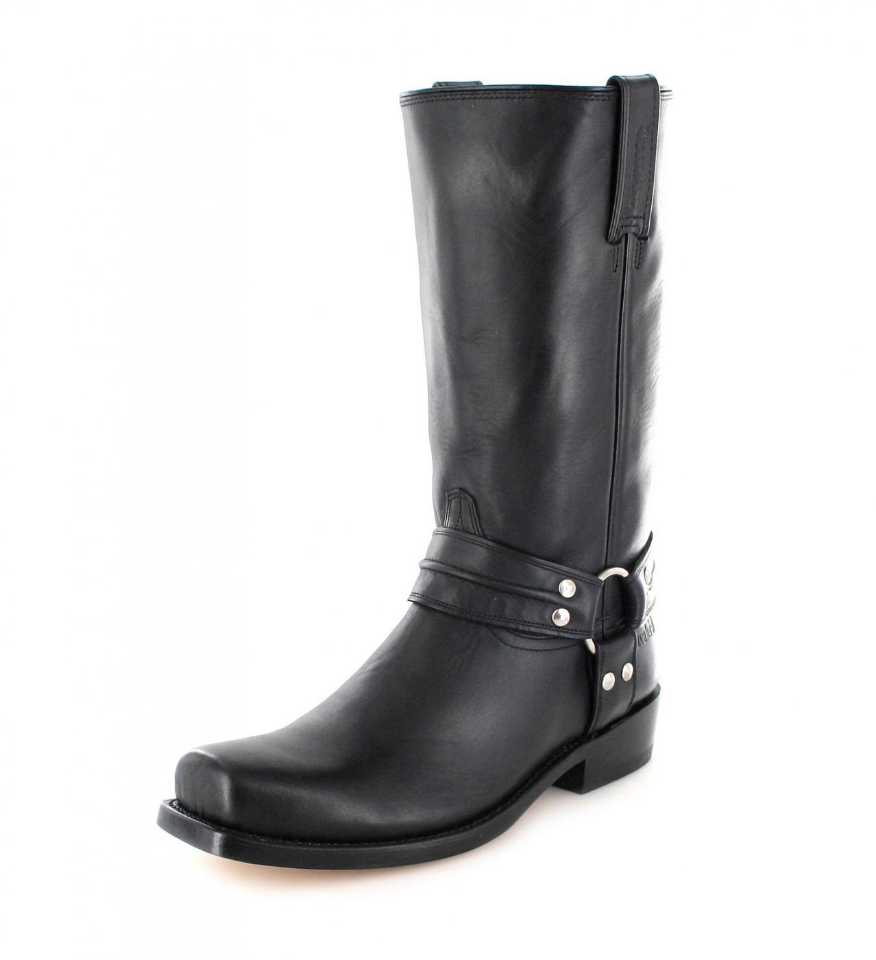 Mezcalero Boots TULSA 0539 Black biker boot - black