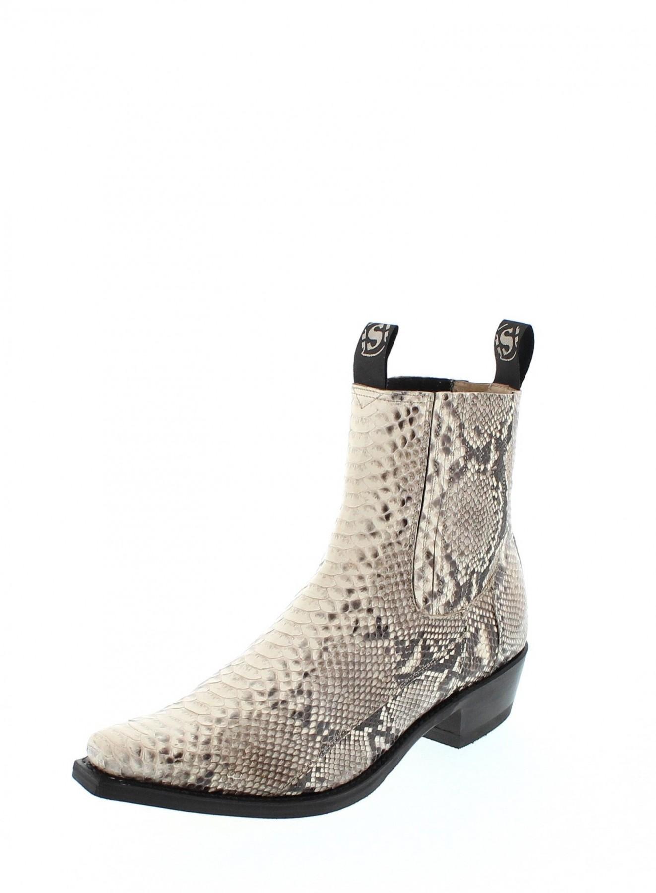Sendra Boots 1692P Python Natural Exotic Wester...
