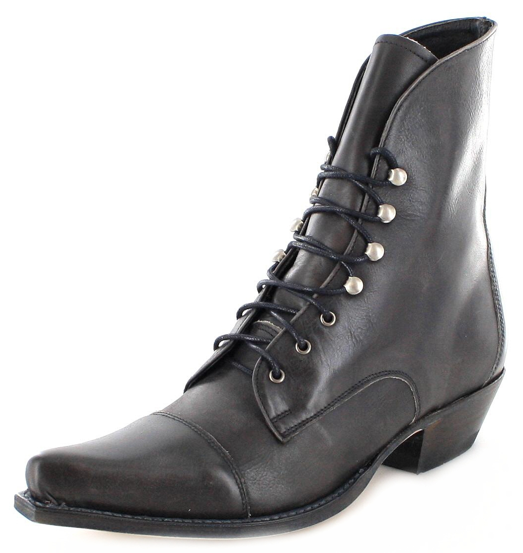 Sendra Boots 2699 Antracita Western laced ankle boot - anthracite