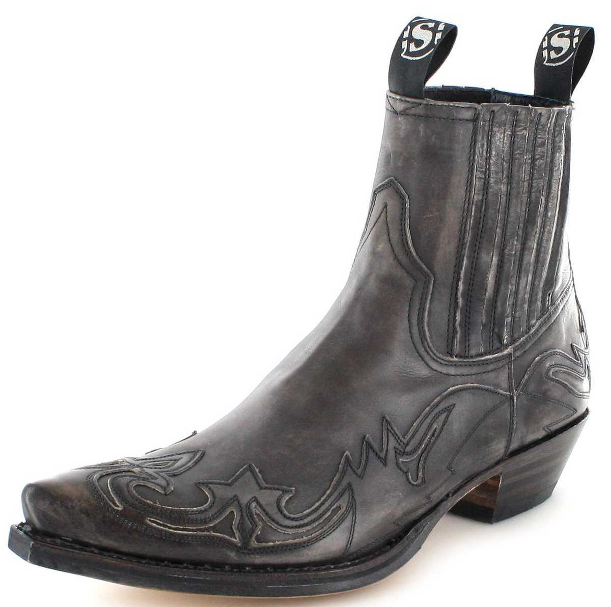 Sendra Boots 4660 Antracita Western ankle boot - Grey