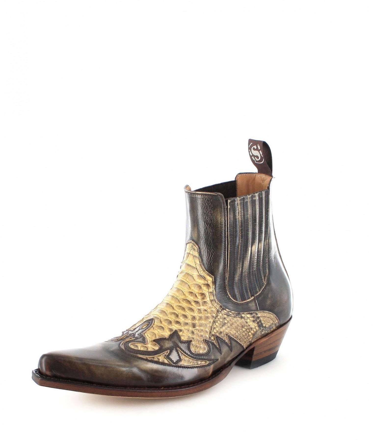 Sendra Boots 9396P Denver 075 Exotic Westernsti...