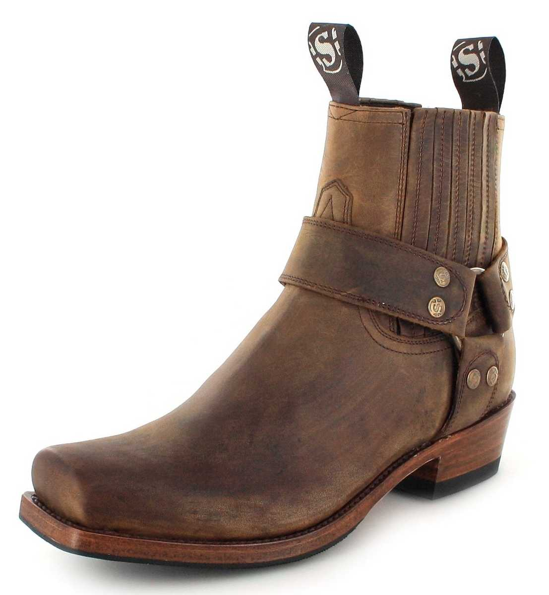 Sendra Boots 8286 Tang biker ankle boot - Brown