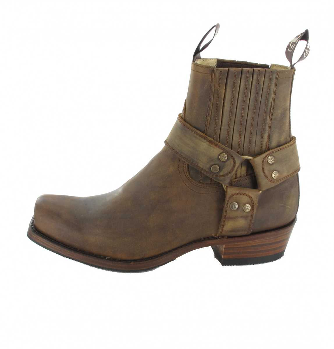 ccc71a14f21 Sendra Boots 8286 Tang biker ankle boot - Brown – Bild 2