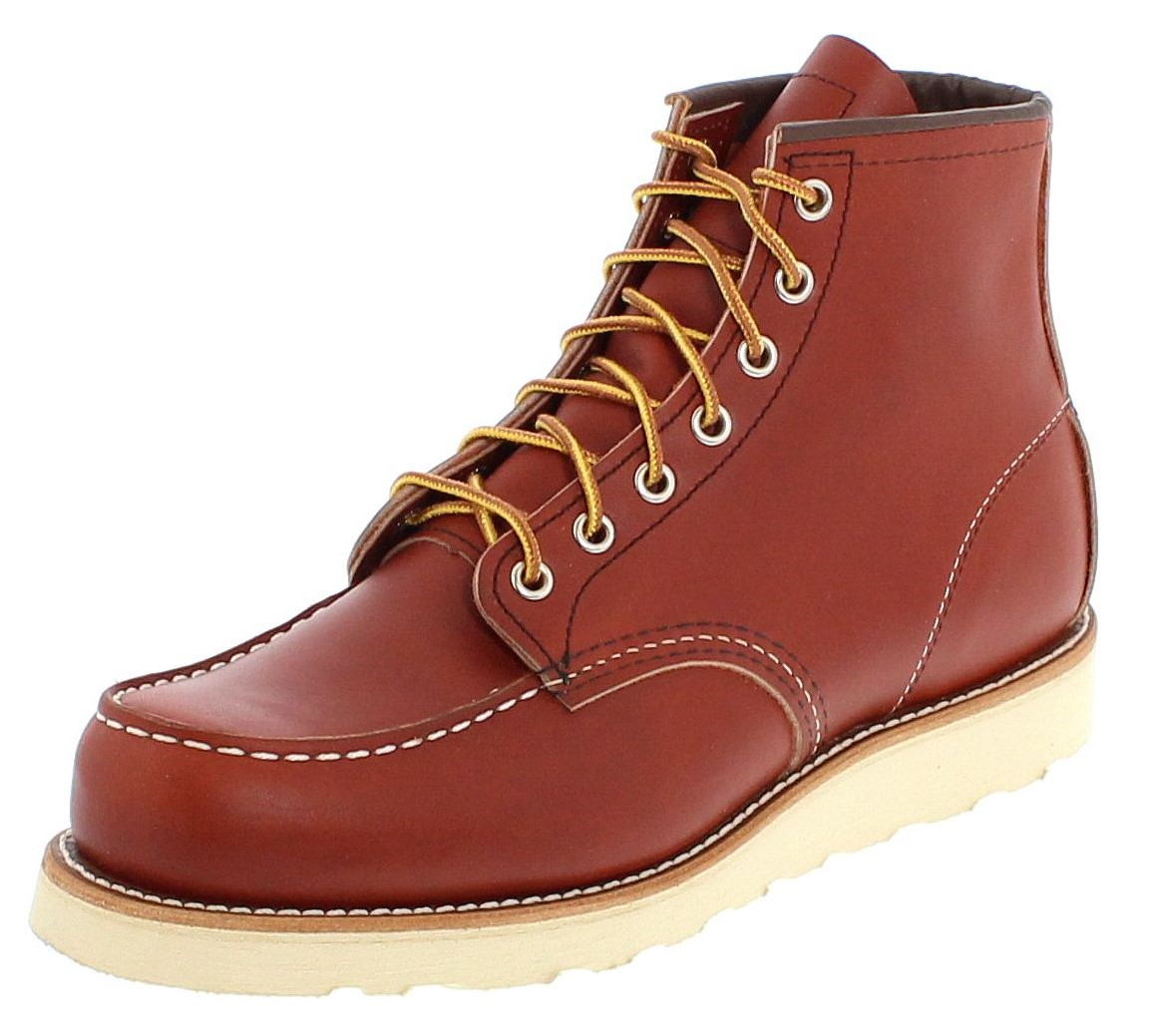 Red Wing Shoes MOC TOE 8131 Oro laced boot - brown