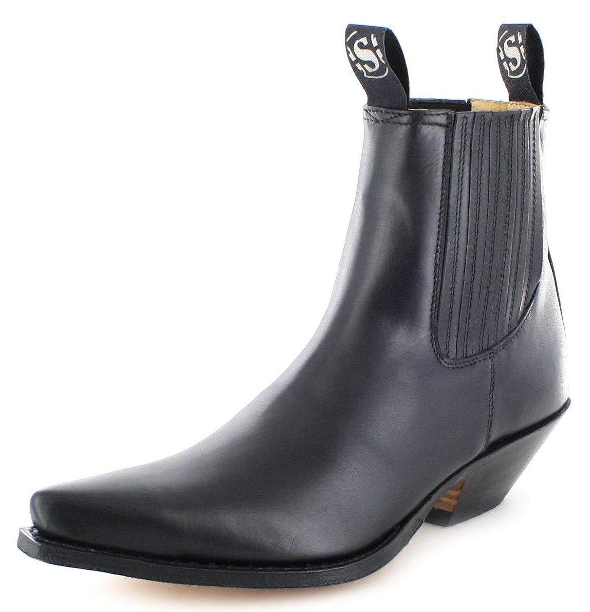 Sendra Boots 1692 Negro Western ankle boot - black