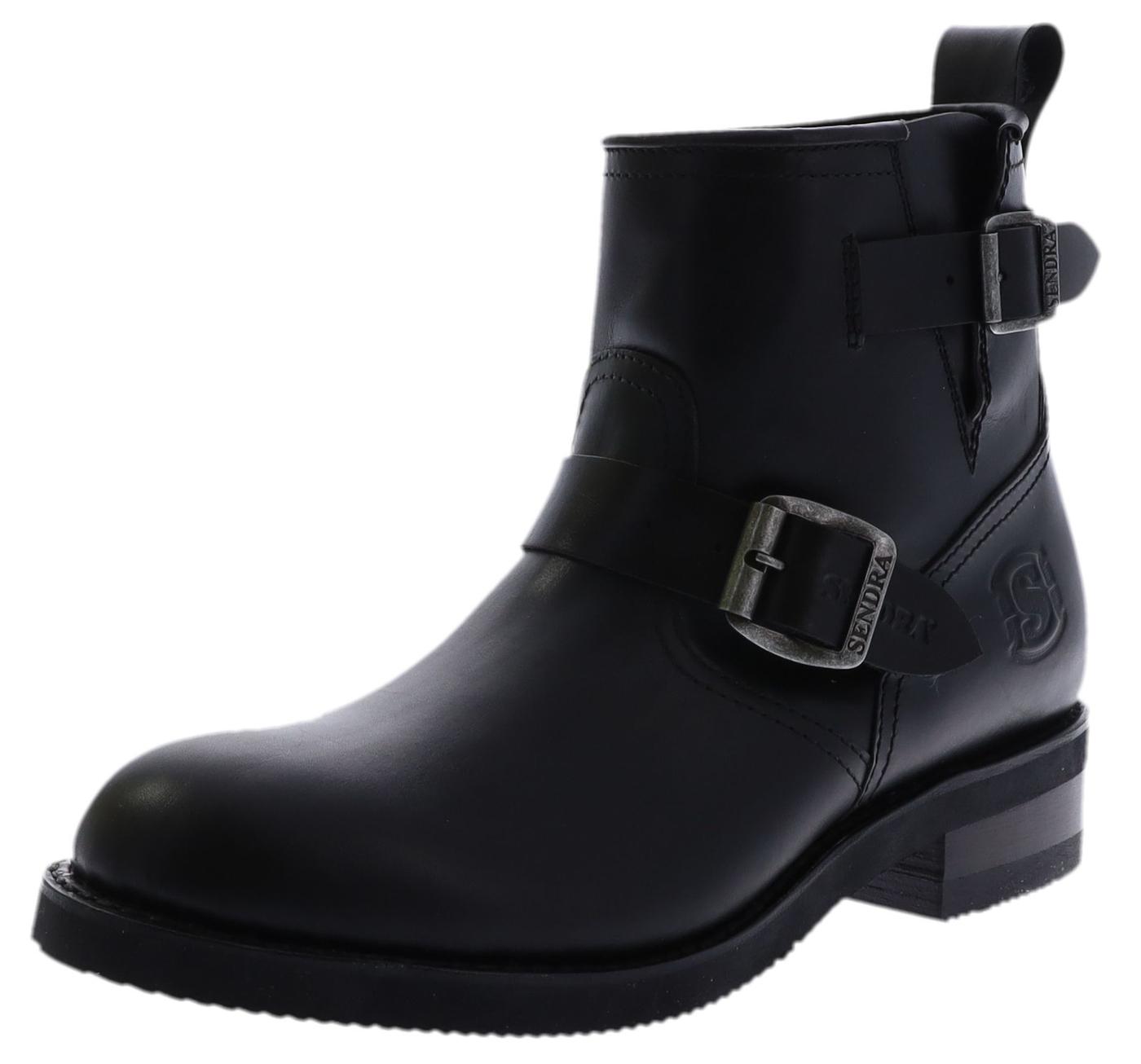 Sendra Boots 2976 Negro Engineer-Stiefelette ohne Stahlkappe - schwarz