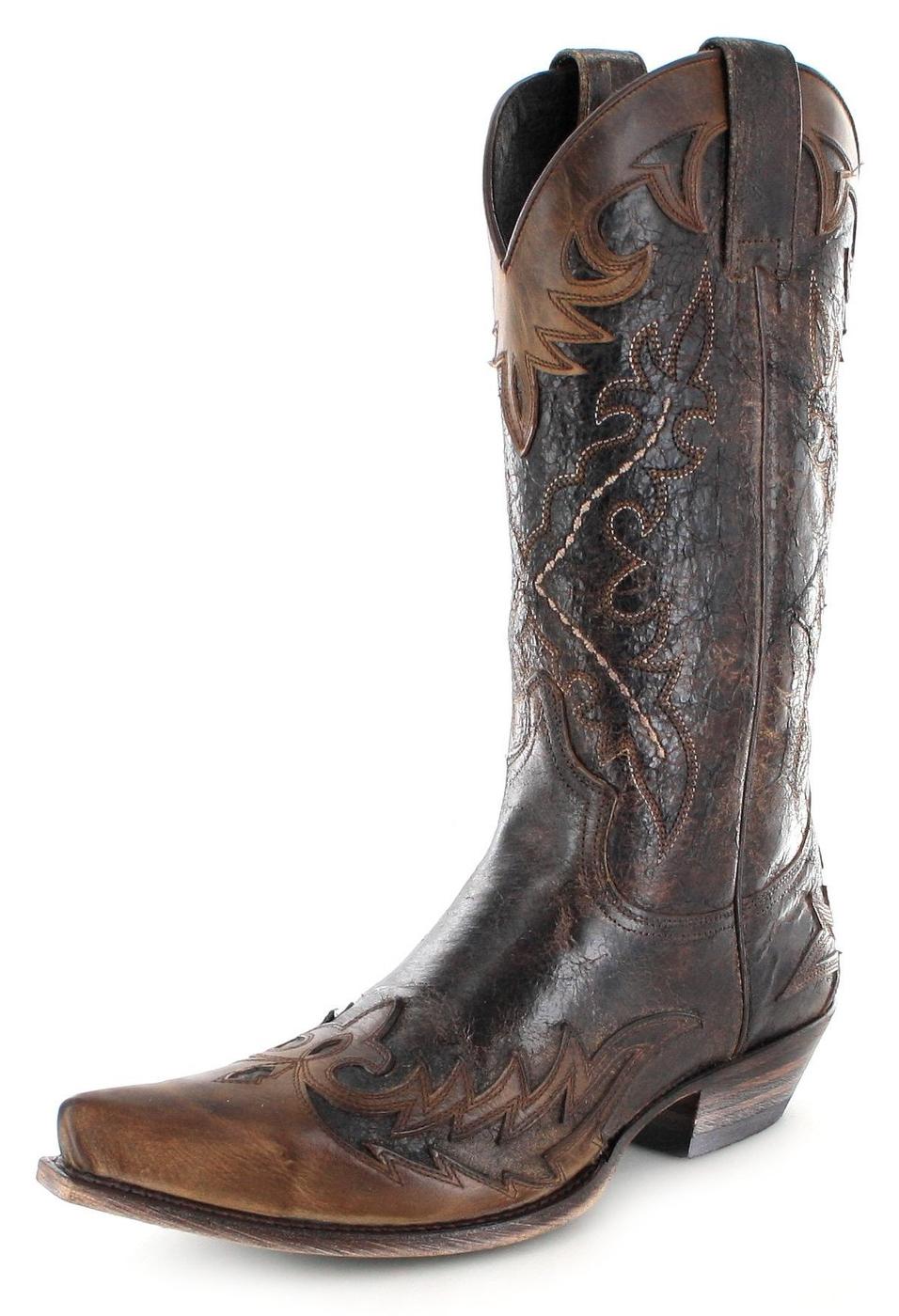Sendra Boots 9669 Tang Marron Quercia Westernstiefel - braun