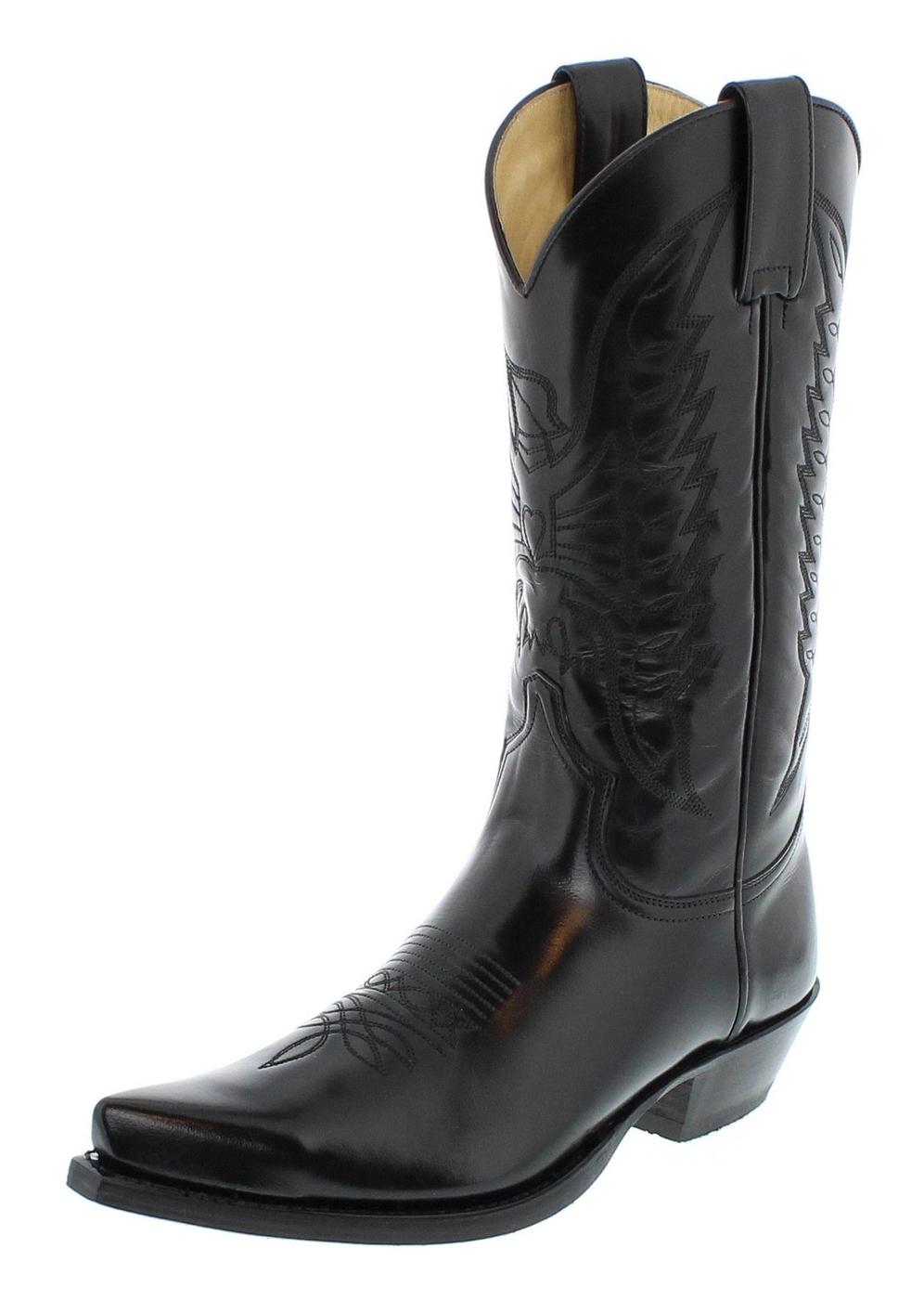 Sendra Boots 2073 Florentic Negro Western boot - Black
