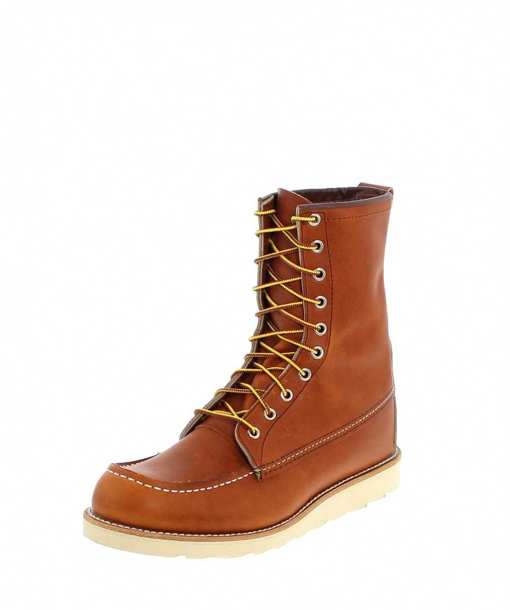 Red Wing Shoes 8-INCH BOOT 0877 Oro-Legacy Work Boots - braun