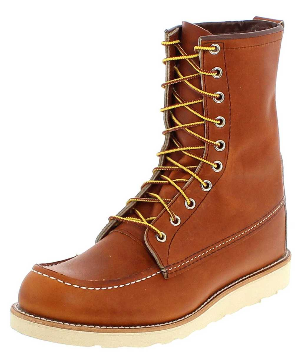 Red Wing Shoes 8-INCH BOOT 0877 Oro-Legacy Work Boots - brown