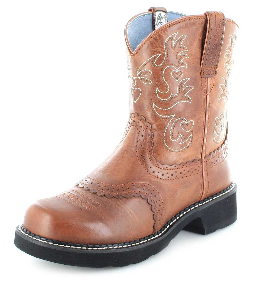 Ariat FATBABY SADDLE 0860 Russet Western riding boot - brown
