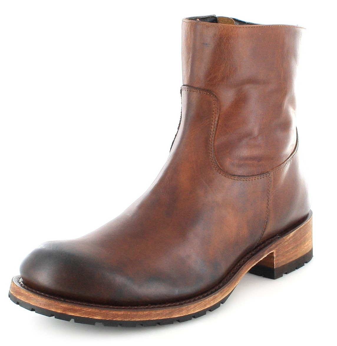 Sendra Boots 9491 Tang Usado Negro Western ankle boot - Brown