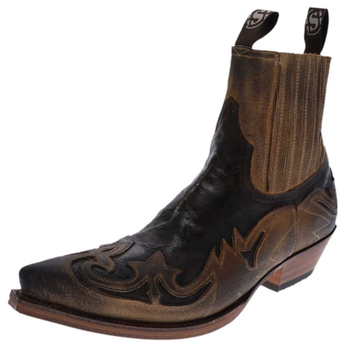 Sendra Boots 4660 Camello Western ankle boot - brown