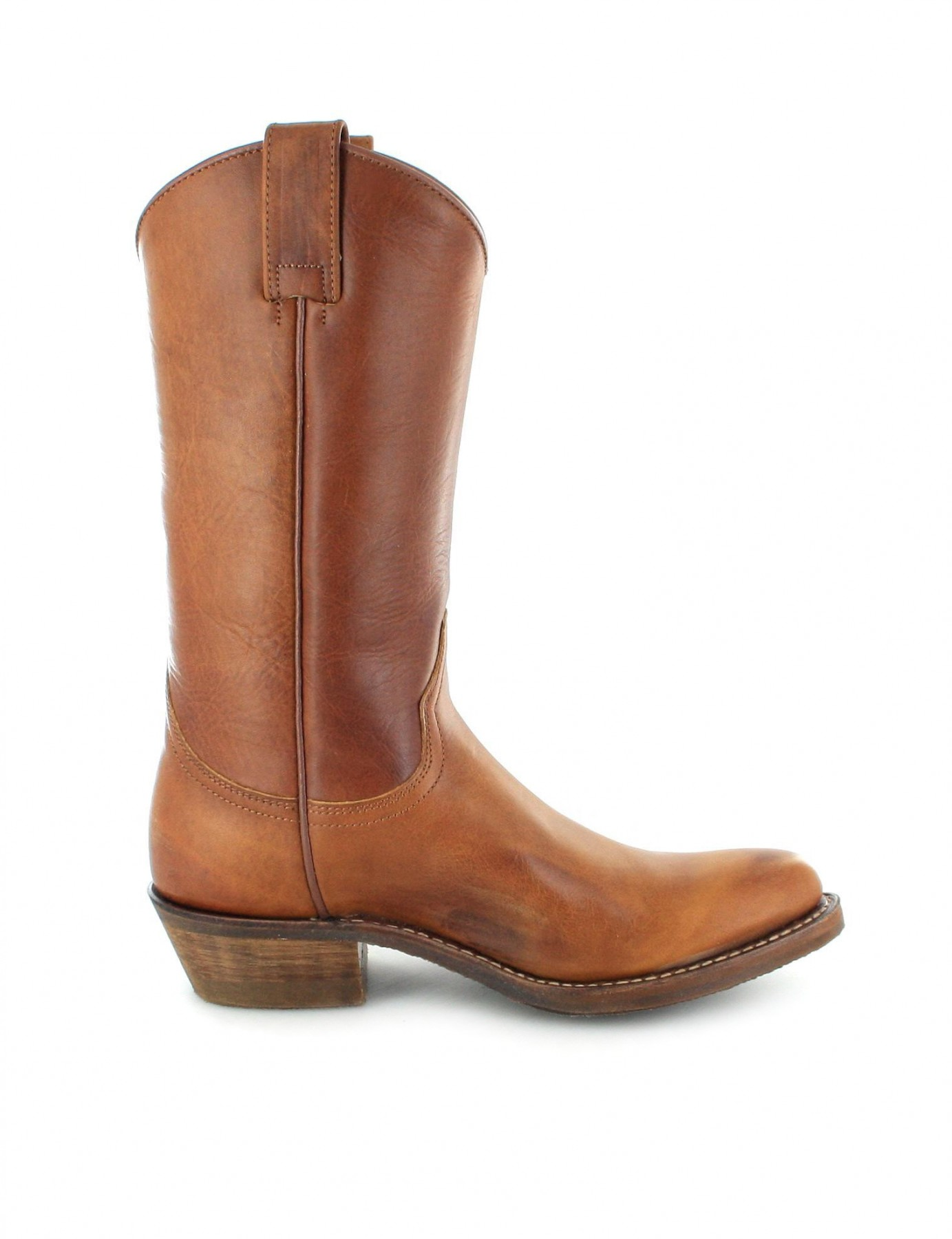 sendra boots 5588 tang western boot brown fashion boots. Black Bedroom Furniture Sets. Home Design Ideas