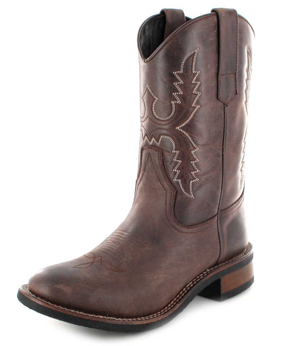 Sendra Boots 11615 Chocolate Mens Western riding boot - Dark Brown