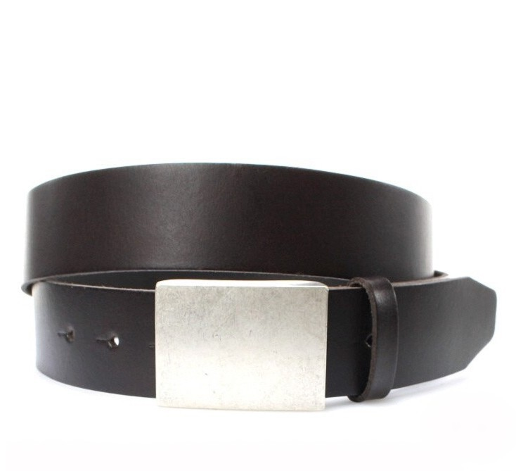 Vanzetti V4423-691 leather belt extra long - dark brown