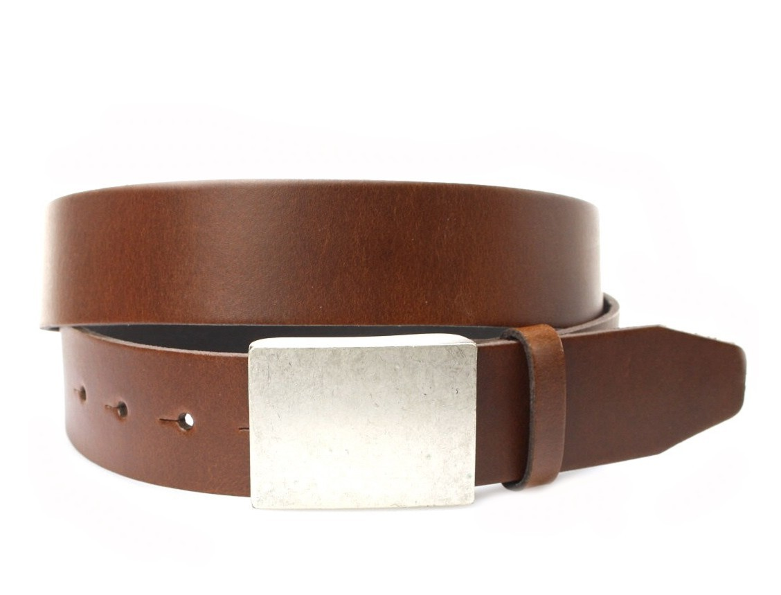 Vanzetti V4423-660 leather belt extra long - brown